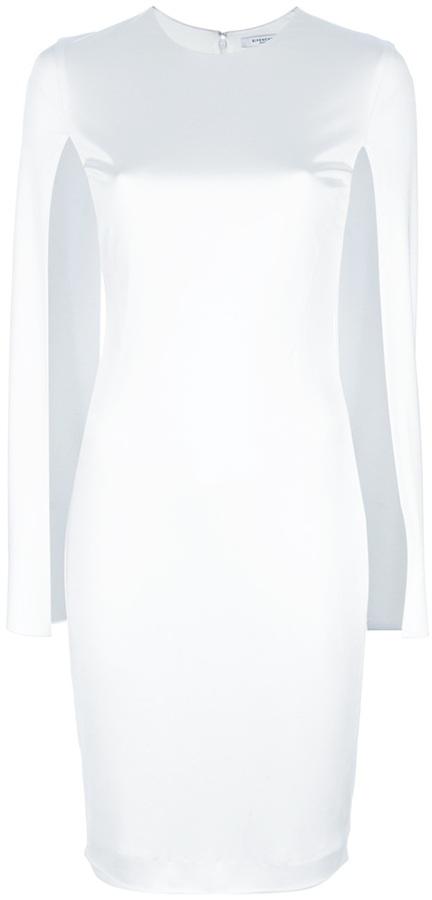 Givenchy open sleeve midi dress