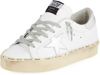 dc2be552cc7 Golden Goose Hi Star Leather Platform Sneakers