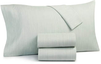 Hotel Collection Closeout! Cotton 525-Thread Count 4-Pc. Yarn-Dyed Queen Sheet Set