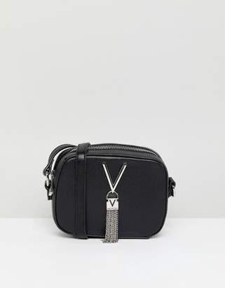 Mario Valentino Valentino By Tassel Detail Camera Cross Body Bag