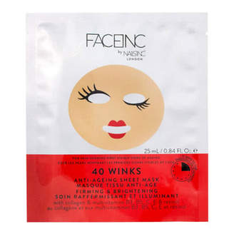 Nails Inc Face Inc 40 Winks Sheet Mask - Anti Ageing
