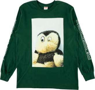 Supreme Mike Kelley Longsleeve Tee - 'FW 18' - Dark Green