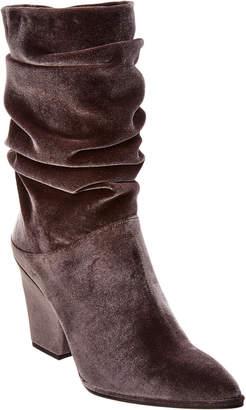 Stuart Weitzman Crush Velvet Boot