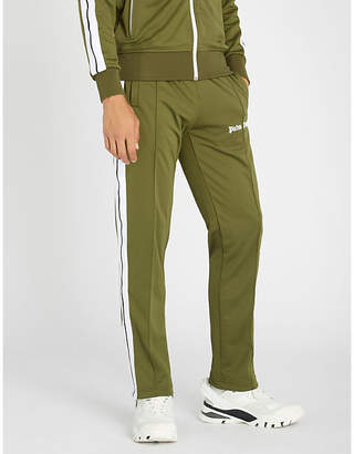 Palm Angels Classic logo-embroidered jersey jogging bottoms