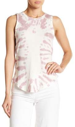 Chaser Lattice Back Hi-Lo Tank Top