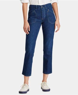 Polo Ralph Lauren Workwear Denim Cotton Skinny Jeans