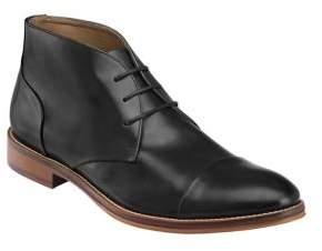 Johnston & Murphy Conard Lace-Up Leather Chukka Boots
