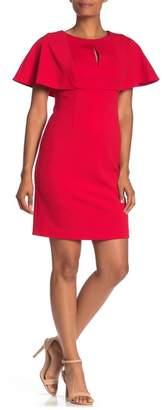 Trina Turk trina Affection Flutter Sleeve Sheath Dress