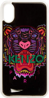 Kenzo Black and Pink Limited Tiger iPhone X Case