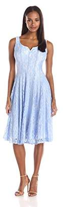 Julian Taylor Women's Lace A-Line Dress