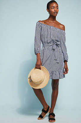Seafolly Gingham Off-The-Shoulder Dress