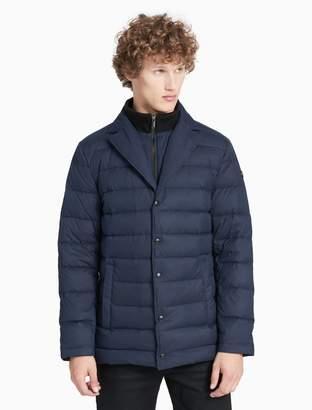 Calvin Klein quilted lined blazer