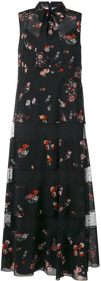 RED ValentinoRed Valentino floral print shirt dress