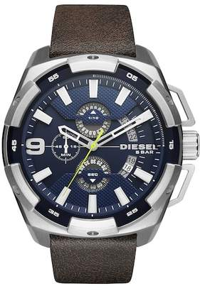 Diesel Men's Heavyweight Analog-Quartz Watch, 50mm x 56mm