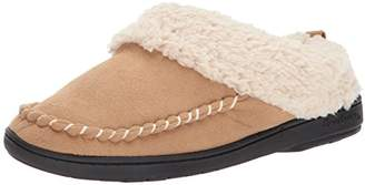 Dearfoams Women's MFS Clog with Whipstitch