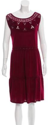 Philosophy di Alberta Ferretti Sleeveless Knit Dress