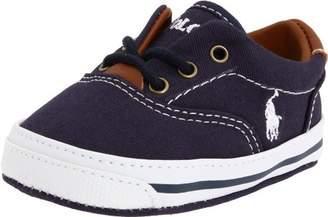 Ralph Lauren Layette Vaughn Crib Shoe (Infant/Toddler) Soft Sole
