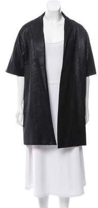 Behnaz Sarafpour Short Metallic Coat
