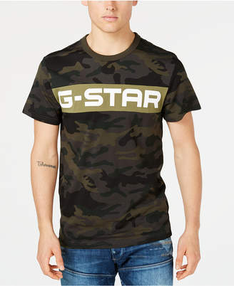 G Star Men's Camo T-Shirt, Created for Macy's