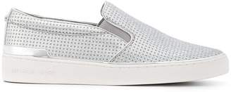 Michael Kors (マイケル コース) - Michael Kors Collection metallic slip-on sneakers