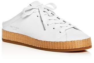 RAG&BONE Women's Leather Platform Mule Sneakers QOl3ydPAt