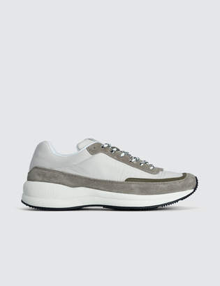Women Running Shoes in White Polyester Nylon A.P.C. MYFvN9M