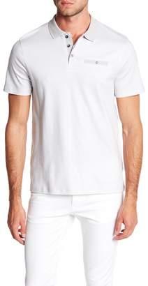 English Laundry Printed Interlock Polo Shirt