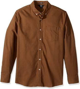 Volcom Men's Oxford Stretch Long Sleeve Shirt