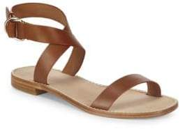 Joie Kaden Leather Ankle-Strap Sandals