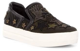 Ash Jeday Patched Platform Slip-On Sneaker