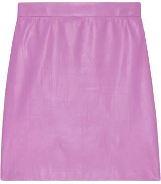 f13b01a59 Leather Mini Skirt - ShopStyle UK