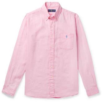 Polo Ralph Lauren Button-Down Collar Linen Shirt
