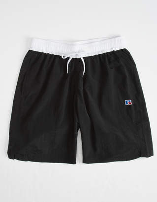 Russell Athletic Schwimmer Black Mens Volley Shorts