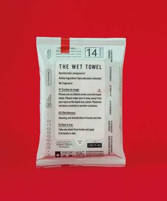 THE THE WET TOWEL ポケットタイプ