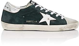 Golden Goose Women's Superstar Suede Sneakers - Dk. Green