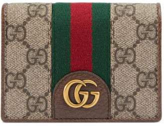 Gucci GG card case with Three Little Pigs