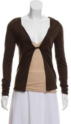 Gucci Layered Long Sleeve Top