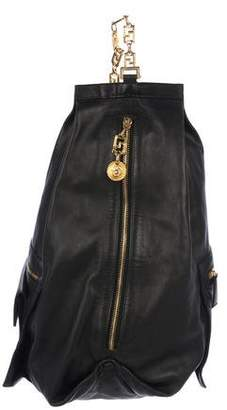 Gianni Versace Leather Sling Bag