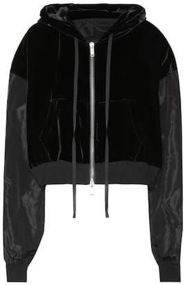 Unravel Velvet hoodie