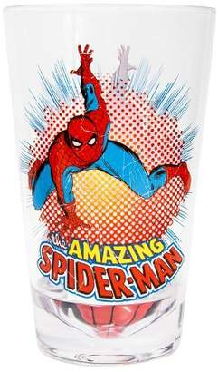 Spiderman Just Funky The Amazing Drinking Glass | Shatter-Proof Acrylic Cup | Holds 16 Oz.