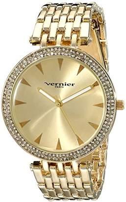 Vernier Paris Women's VNRP11186YG Gold-Tone Watch