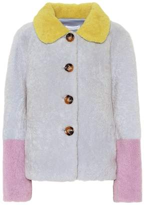 Saks Potts Lucia Baby shearling coat