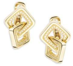 Chimento Link Diana Diamond & 18K Yellow Gold Earrings
