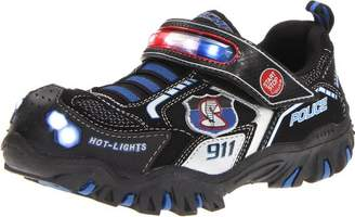 Skechers Boys' Damager Police II Trainers Black BLACK Black Schwarz (BKRY) Size: 32