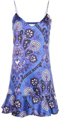 Caroline Constas abstract print short dress