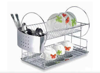 """""SPACIA II"""" Dish Rack 2-Tier,"