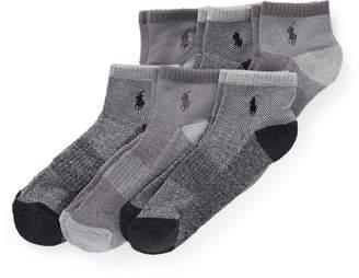 Ralph Lauren Ankle Sock 6-Pack