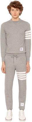 Back Zip Cotton Sweat Jumpsuit $1,520 thestylecure.com