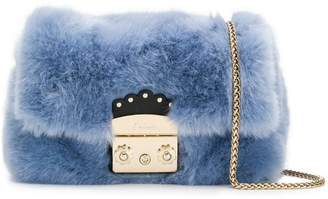 Furla fuzzy Metropolis shoulder bag