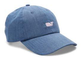 Vineyard Vines Chambray Baseball Hat $34 thestylecure.com